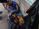 A federal judge on Monday determined that the US government is violating its own rules regarding the treatment of people seeking asylum