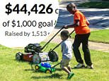 After news broke of the neighbor calling police, a 'Reggie Boyz Lawn Service' GoFundMe raised $45,000