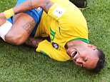 Brazil may have beat Mexico 2-0 but it was Neymar's theatrics that were the main talking point