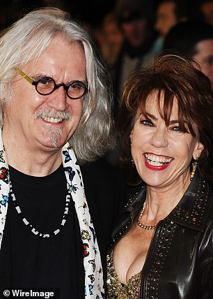 Kathy with Billy Connolly