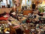 Arthur Watson at his flat which he says he is going to clean up after almost three decades of hoarding