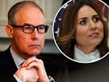 EPA Administrator Scott Pruitt asked aides to help his wife Marilyn find a job that would net her a salary that topped $200,000. She was at his side when he was sworn in by Supreme Court Samuel Alito
