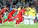 More than 23million TV viewers watched England's victory against Colombia last night