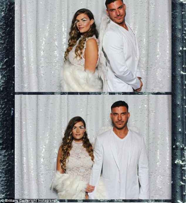 Date night: For the party, Brittany was joined by fiance Jax Taylor, 38