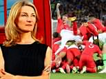 Dr Pippa Grange (pictured) has finally helped the England team do what they're paid for