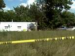 Two sisters under the age of five were found dead outside a home near Kearney, Missouri (pictured) on Wednesday