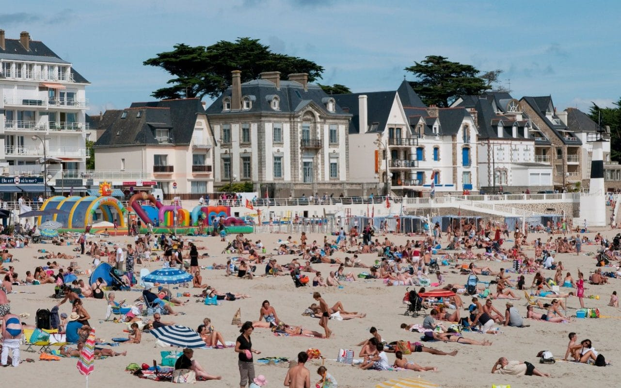 Squatters claiming that holiday home buyers are making rents unaffordable for locals have occupied about 10 properties in Brittany