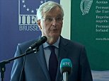 Addressing a think-tank in Brussels today, Mr Barnier said the single market had taken 45 years to assemble and could not be 'unravelled' or reduced to a 'supermarket'