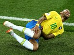 When he's on the grass, raise your glass! Belgians will down their drinks when Neymar dives