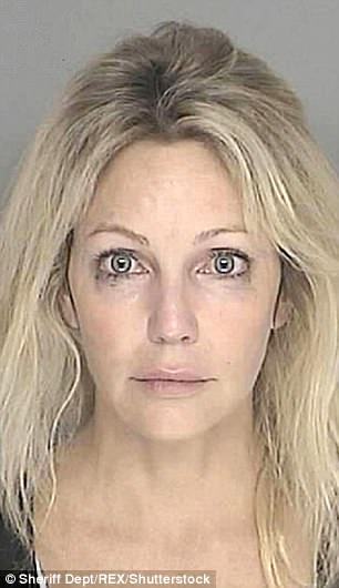 Locklear was arrested in 2008 for driving under the influence