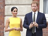 Prince Harry, pictured with his new wife Meghan, is expected to attend a conference on Aids