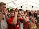 Three Lions supporters around the country celebrated wildly as England brilliantly beat Sweden 2-0 in the World Cup quarter final