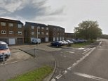 The first victim was found with knife wounds near Pitsea Road (pictured) in Pitsea, Essex just before 9pm on Saturday. He was pronounced dead at Basildon Hospital