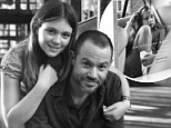 Photographer and editor Justin O'Neill, with his daughter, worked on a photography book featuring images of Stella, now 11, following his split from his wife three years ago