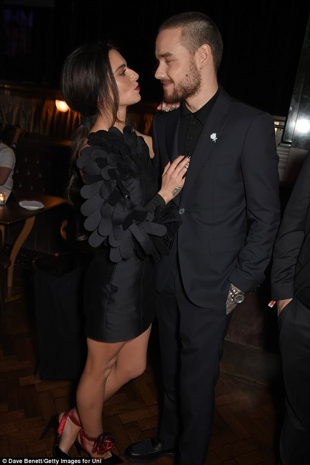 Over: It is thought that Liam moved out of the £5million Surrey mansion they shared weeks ago, and is now living in his bachelor pad in London (pictured at the BRITs in February)