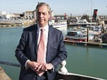 Nigel Farage (file pic) charismatic ex Ukip leader tore into Theresa May's Brexit plans branding them a 'betrayal'