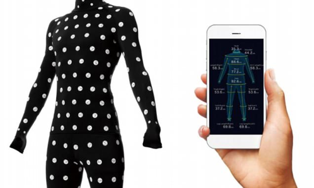 The smart bodysuit that could ensure clothes you buy online fit