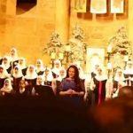 Muslim choir girls sing Arabic Christmas carols along with Abir Nehme in Beirut Chants