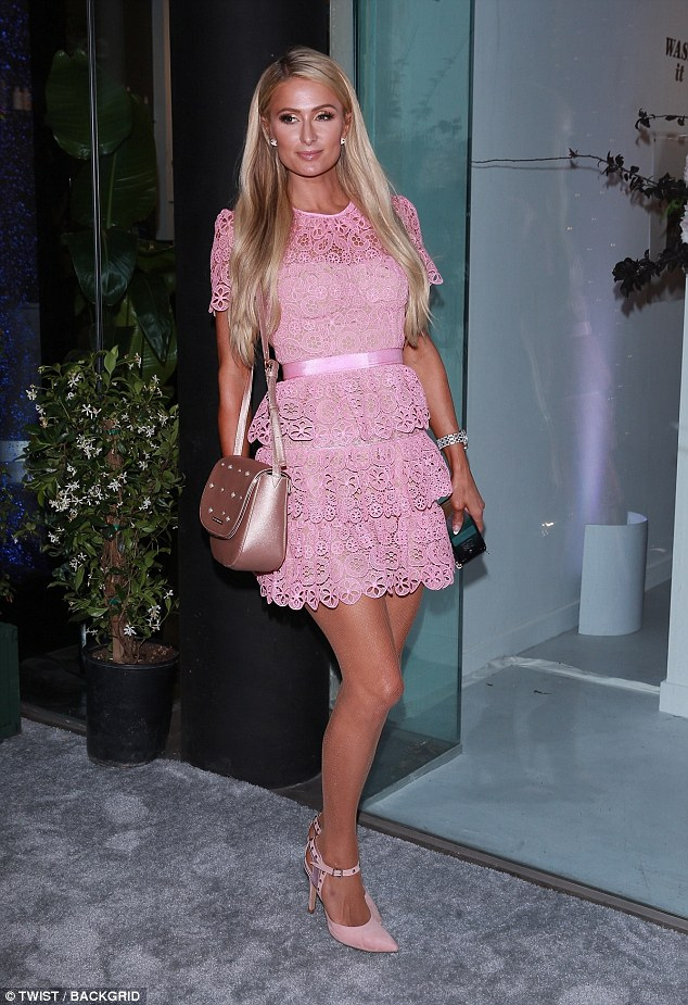 Addicted: Paris Hilton proved she still had a taste for the drama-filled genre as she continued to keep fans updated on her thoughts on this year's Love Island