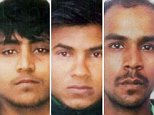 Men convicted of the 2012 Delhi bus attack (from left) Pawan Gupta,Vinay Sharma andMukesh Singh have had their death sentences upheld.Akshay Singh Thakur (right) did not appeal his sentence