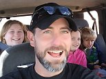 Adam Lee, 40, died in December after being crushed on a ski lift in Loveland, Colorado. His wife Erika is now being denied half his workers' compensation benefits because he had legal marijuana in his system. They are pictured above with their three children