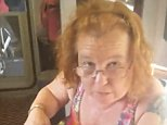 Tanyalee Davis, 47, as visibly upset in a film recorded by her partner
