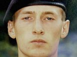 Private Sean Benton, 20, was found with five bullets in his chest at the Surrey base in June 1995