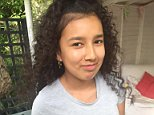 Tragic: Jessica UrbanoRamirez, aged 12, was on the phone to a call handler before she died, an inquiry heard