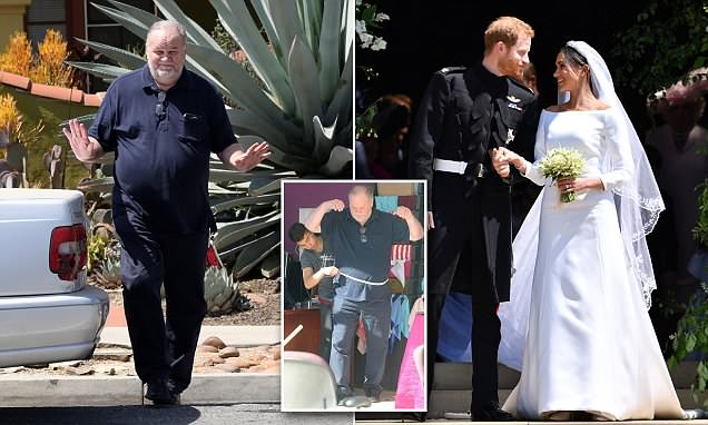 Thomas Markle claimed heart surgery so he could avoid royal wedding