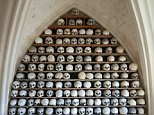 Police said 21 of the church's skulls had been stolen from the crypt in a crime described as'shocking and unsettling'