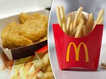 McDonald's said customers can claim free French fries every Friday for the rest of 2018 with a minimum $1 purchase through its app
