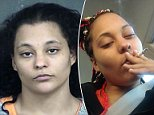 Monstrous charges: Azzie Watson, 25, is accusing of allowing two men to rape her two-year-old daughter five times as she watched