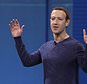"""FILE - In this May 1, 2018, file photo, Facebook CEO Mark Zuckerberg makes the keynote address at F8, Facebook's developer conference in San Jose, Calif. Remarks from Zuckerberg have sparked criticism from groups such as the Anti-Defamation League. Zuckerberg, who is Jewish, told Recode's Kara Swisher in an interview that although he finds Holocaust denial """"deeply offensive,"""" such content should not be banned from Facebook. (AP Photo/Marcio Jose Sanchez, File)"""