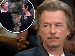 Tribute:David spade recalled how 'lovely' and 'beautiful' his late sister-in -law Kate Spade was while appearing on Good Morning America Wednesday (above)