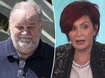 Friends of Meghan Markle's father have lashed out at Sharon Osbourne for saying Thomas (pictured) has a 'bad drinking problem'