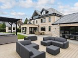The England goalkeeper has just splashed out on this five-bedroom mansion in Cheshire as he prepares to move in with his childhood sweetheart, Megan Davison, following the Three Lions' most successful World Cup campaign in 28 years
