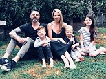 Vegan parents Amanda and Trent Brewer (pictured with their children) are batting away critiques suggesting children raised on a plant-based diet are deprived of vital nutrients