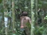 Captivating footage has emerged of the last known survivor of an Amazonian tribe murdered by farmers over two decades ago