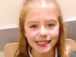 Layla Fisher suffered horror chemical burns on her fingers