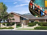 The iconic, Los Angeles home used as the exterior for the hit TV series The Brady Bunch's home is on sale for $1.9million