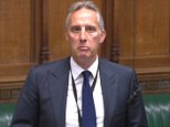 DUP MP Ian Paisely was almost overcome by emotion in the Commons today