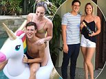 Australia's swimming golden couple Mitch Larkin and Emily Seebohm are rumoured to have split because of an alleged affair involving another swimmer