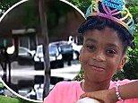 Makiyah Wilson, 10, was shot and killed on Monday evening outside her apartment in Northeast DC
