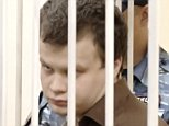 Russian man Dmitry Luchin (pictured) 'turned into a cannibal and vampire' after endlessly reading about ritual murders online, a court was told