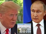 President Donald Trump says a second meeting with Vladimir Putin 'is in the works' following a 'tremendous discussion' in Helsinki with the Russian leader
