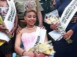 Last August 30, Ruth Kamande had been crowned 'Miss Lang'ata Prison' in Nairobi -- she was in jail awaiting trial for killing her boyfriend