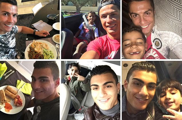 Cristiano Ronaldo's biggest fan is a teenager from Denmark who is hell-bent on footballing