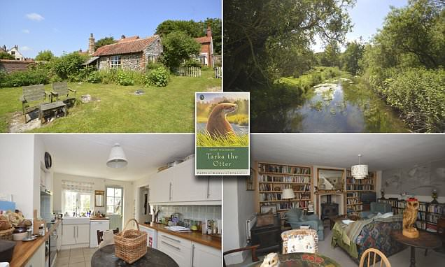 Norfolk cottage that once belonged to Tarka The Otter author hits the market for £575,000