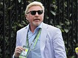 Boris Becker arriving at Wimbledon, A 'domestic incident' is said to have taken place at the £24,000-a-month home he shares with his estranged wife Lilly