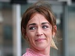 Sophia Murphy, pictured outside court yesterday,waived her anonymity after her father John was jailed for 18 years for the 'horrendous' sexual abuse of his daughter